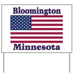 Bloomington Flag Yard Sign