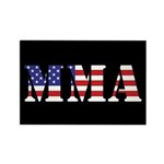 USA MMA Rectangle Magnet (10 pack)
