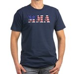 MMA USA Men's Fitted T-Shirt (dark)