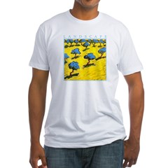 Olive Trees - Cyprus Fitted T-Shirt
