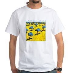 Olive Trees - Cyprus White T-Shirt