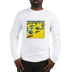 Olive Trees - Cyprus Long Sleeve T-Shirt
