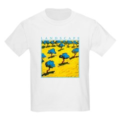 Olive Trees - Cyprus Kids Light T-Shirt