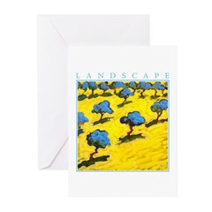 Olive Trees - Cyprus Greeting Cards (Pk of 20)