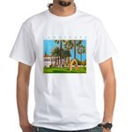 The Shakespeare - Cyprus White T-Shirt