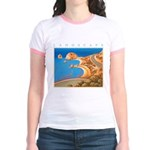 Aphrodite's Rocks - Cyprus Jr. Ringer T-Shirt