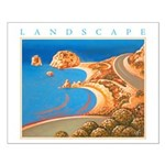 Aphrodite's Rocks - Cyprus Small Poster