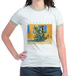 Green Zone - Cyprus Jr. Ringer T-Shirt