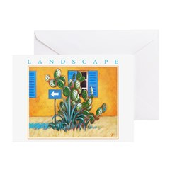 Green Zone - Cyprus Greeting Cards (Pk of 20)