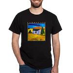 Akamas Hut - Cyprus Dark T-Shirt