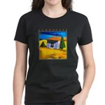 Akamas Hut - Cyprus Women's Dark T-Shirt