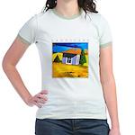 Akamas Hut - Cyprus Jr. Ringer T-Shirt