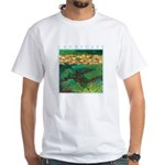 Akamas Village - Cyprus White T-Shirt