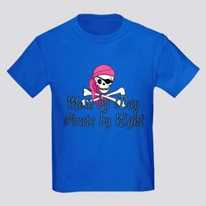 Mom Pirate Kids Dark T-Shirt