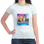 Hottest Day Jr. Ringer T-Shirt