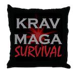 Krav Maga Throw Pillow