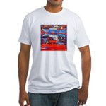 Latchi Harbour - Cyprus Fitted T-Shirt