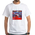 Latchi Harbour - Cyprus White T-Shirt