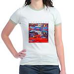 Latchi Harbour - Cyprus Jr. Ringer T-Shirt