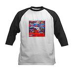 Latchi Harbour - Cyprus Kids Baseball Jersey