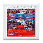 Latchi Harbour - Cyprus Tile Coaster