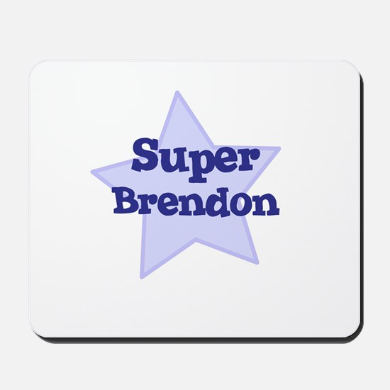 Super Brendon Mousepad