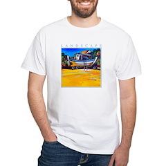 Beached White T-Shirt