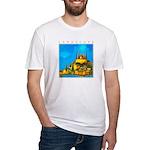 Pissouri Church Fitted T-Shirt