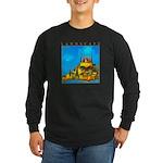 Pissouri Church Long Sleeve Dark T-Shirt