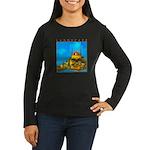 Pissouri Church Women's Long Sleeve Dark T-Shirt