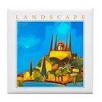 Pissouri Church Tile Coaster