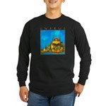 Cyprus, Pissouri Church Long Sleeve Dark T-Shirt