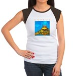 Cyprus, Pissouri Church Women's Cap Sleeve T-Shirt