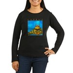 Cyprus, Pissouri Church Women's Long Sleeve Dark T