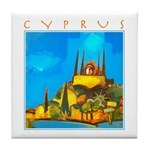 Cyprus, Pissouri Church Tile Coaster