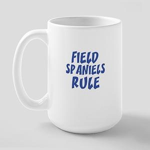 FIELD SPANIELS RULE Large Mug