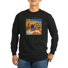 Cyprus, Neo Chorio Long Sleeve Dark T-Shirt