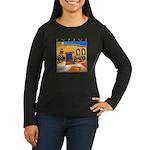 Cyprus, Neo Chorio Women's Long Sleeve Dark T-Shir