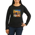 Cyprus, Neo Chorio Women's Long Sleeve Dark T-Shir