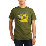 Cyprus, Olive Trees Organic Men's T-Shirt (dark)