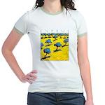 Cyprus, Olive Trees Jr. Ringer T-Shirt