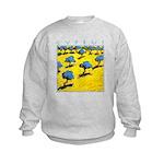 Cyprus, Olive Trees Kids Sweatshirt