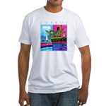 Cyprus, poolside Fitted T-Shirt