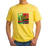 Cyprus, poolside Yellow T-Shirt