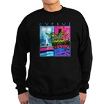 Cyprus, poolside Sweatshirt (dark)
