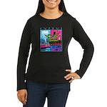 Cyprus, poolside Women's Long Sleeve Dark T-Shirt