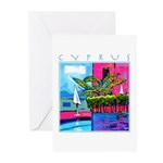 Cyprus, poolside Greeting Cards (Pk of 20)