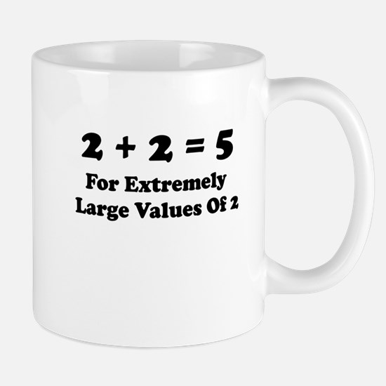 It All Adds Up! Mug