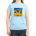 Cyprus, Akamathea Hut Women's Light T-Shirt