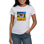 Cyprus, Akamathea Hut Women's T-Shirt